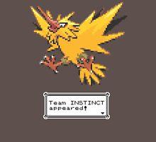 Pokemon Go - Team Instinct Sprite Design Unisex T-Shirt