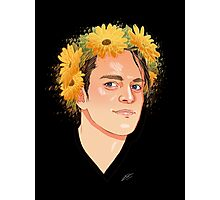 Dallon flower crown  Photographic Print
