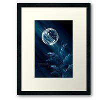 Birth Of Winter Framed Print