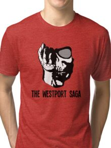 Westport Logo with Text Tri-blend T-Shirt