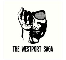Westport Logo with Text Art Print