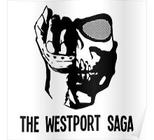 Westport Logo with Text Poster