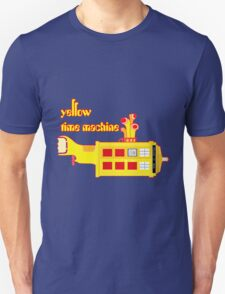 YELLOW TIME MACHINE PILLOW  Unisex T-Shirt