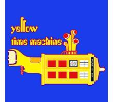 YELLOW TIME MACHINE PILLOW  Photographic Print