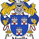 Murillo Coat of Arms/ Murillo Family Crest by William Martin