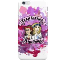 team science mega force iPhone Case/Skin