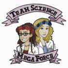 team science mega force by DBenitez95