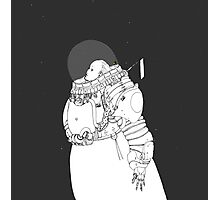 Space Samurai  Photographic Print