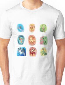 Hoenn Starters Unisex T-Shirt