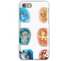 Hoenn Starters iPhone Case/Skin