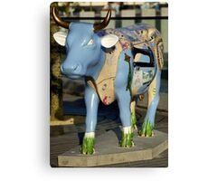 Cow Parade - Shirt Factory Horn, Derry Canvas Print