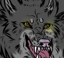Werewolf Sticker  Sticker