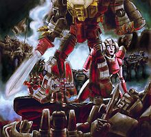 Army of Grimlock by rabbittree