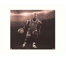Michael Jordan Artwork Art Print