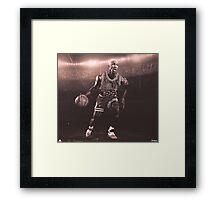 Michael Jordan Artwork Framed Print