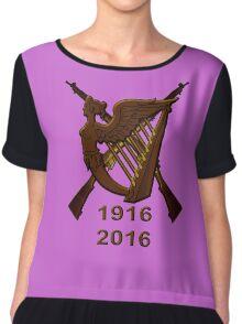 1916 Irish republic 2016  Chiffon Top