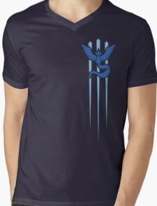 Team Mystic - Pokemon GO (Trident) Mens V-Neck T-Shirt