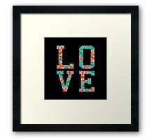 LOVE ROSE  Framed Print