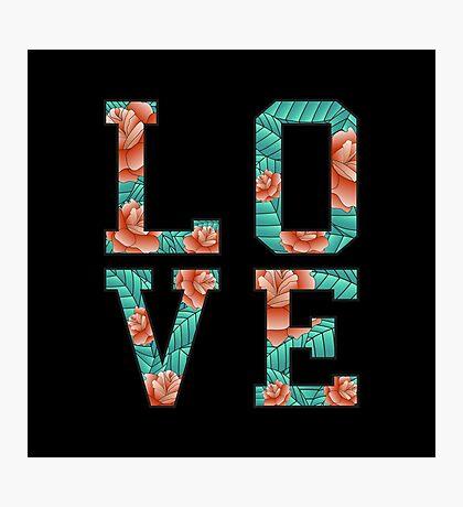 LOVE ROSE  Photographic Print