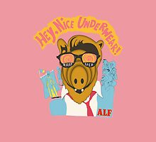 Lord help us, he's back in his pink Alf shirt by Snowballs