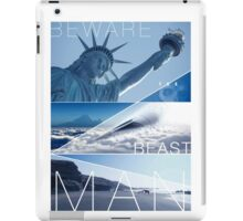 Planet of the Apes - Beware the Beast Man iPad Case/Skin