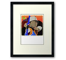 Olympic Archer Rio 2016 Framed Print