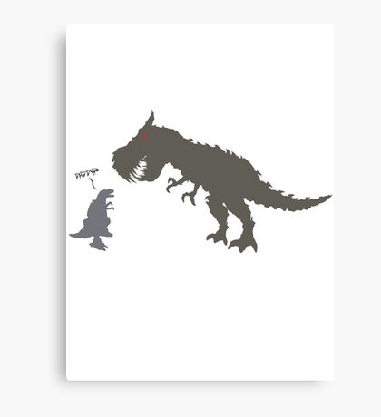 Transformers - Grimlock (Daddy?) Canvas Print