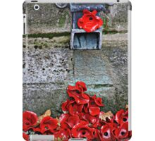Clay Poppies, Tower of London iPad Case/Skin