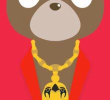 My Beautiful Dark Twisted Fantasy Bear - Kanye West Sticker