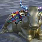 Let's Mooooooove Ahead Together, Ebrington, Derry by George Row