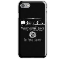 Winchester Bros iPhone Case/Skin