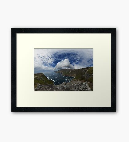 Bunglas - Highest Sea Cliffs in Europe? Framed Print