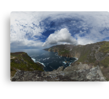 Bunglas - Highest Sea Cliffs in Europe? Metal Print