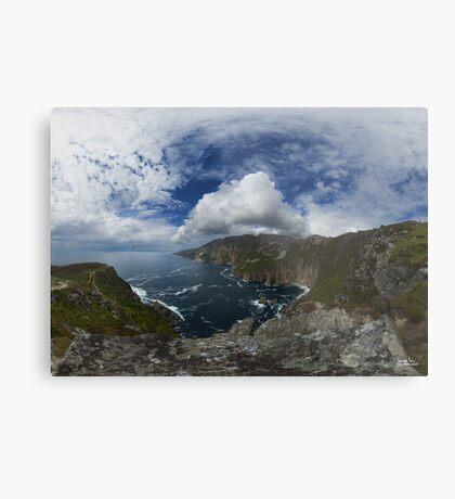 Bunglas - Highest Sea Cliffs in Europe? Metal Print
