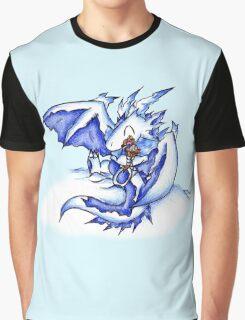 Ice Dragon Ice Cream Bliss Graphic T-Shirt