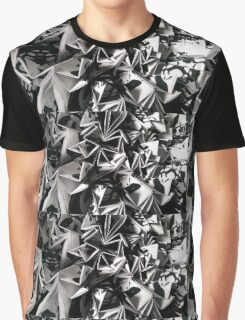 Paper Origami Close-up Graphic T-Shirt