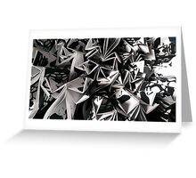 Paper Origami Close-up Greeting Card
