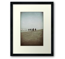 Riding with the Tide Framed Print