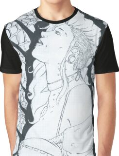 Webbed Woman Graphic T-Shirt