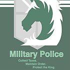 Military Police by Gabriel Gutierrez