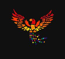 Cool Artsy Fun Colorful Phoenix Rising from Ashes Unisex T-Shirt