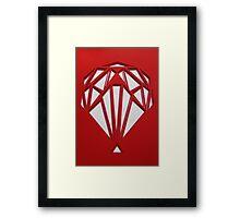 Red Hot Balloon Flight Framed Print