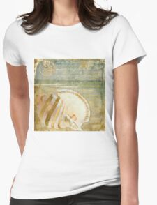 Golden Sea IV Womens Fitted T-Shirt