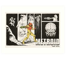 Metroid: 30 Years Art Print