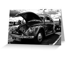 1956 VW Beatle Greeting Card