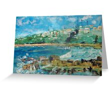 Convent Beach, Yamba, NSW Australia Greeting Card
