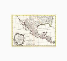 Vintage Map of Mexico (1771) Unisex T-Shirt
