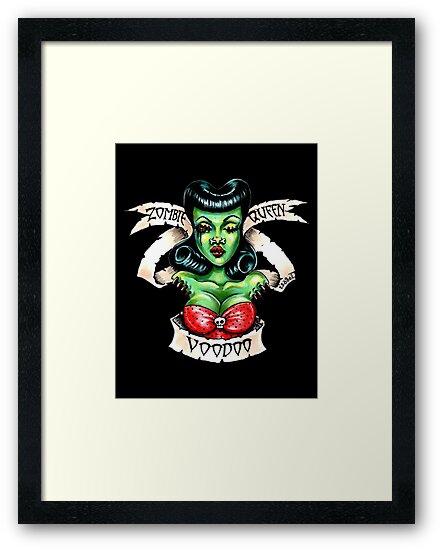 Zombie Voodoo Queen by Isobel Von Finklestein