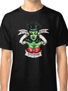 Zombie Voodoo Queen Classic T-Shirt