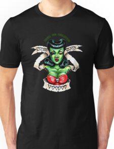 Zombie Voodoo Queen Unisex T-Shirt